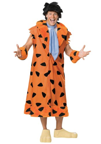 Rubies Mens Movie Characters The Flintstone Fred Theme Party Costume
