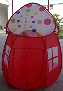 @theia Most Popular Cute Mushroom Play Tent House, Gift Idea