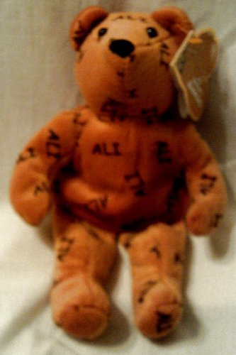 Salvino's Bammers Bean Bear: Mohammed Ali W/tag Retired by Salvino Inc