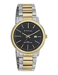 Titan Black Dial Analog Watch For Men - 9440BM01J