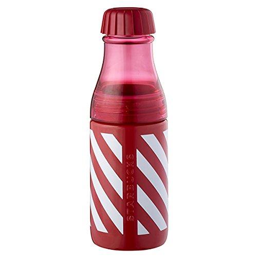 Starbucks (スターバックス) 海外限定 サニーボトル 「キャンディストライプ」 (赤×白ストライプ) 17oz [並行輸入品]