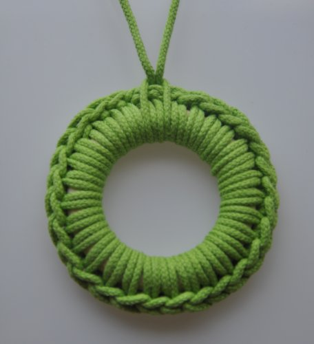 Barin Toys Breastfeeding Necklace, Lime Green