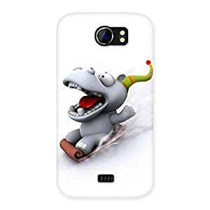 Special Slide Dog Back Case Cover for Micromax Canvas 2 A110
