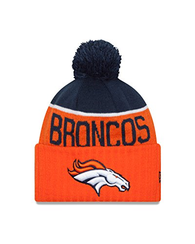 Denver Broncos New Era 2015 NFL Sideline On Field Sport Knit Hat Cappello