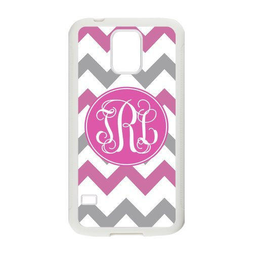 Nymeria 19 Customized Chevron With Monogram Diy Design For Samsung Galaxy S5 Hard Back Cover Case De-8