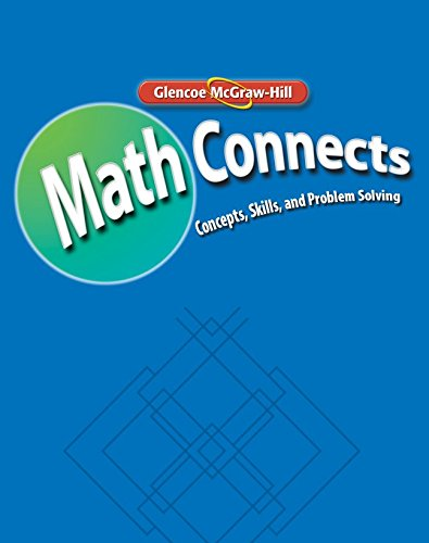 Math Connects: Concepts, Skills, and Problems Solving, Course 2, Math Skills Maintenance Workbook (MATH APPLIC & CON