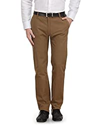 Ausy Brown Mens Trousers