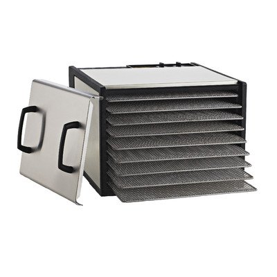 Excalibur 9-Tray Stainless Steel Dehydrator w/Stainless Steel Trays and Door Model D900SHD (Excalibur Stainless Steel compare prices)