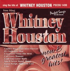 Whitney Houston - Sing The Hits Of Whitney Houston - New and Greatest Hits (Karaoke) (US Import) - Lyrics2You