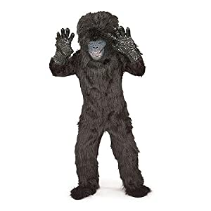 Super Deluxe Gorilla Monkey Ape Kids Costume