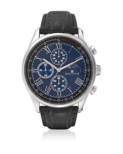 Executive Reloj de cuarzo Man Windsor Negro 42 mm