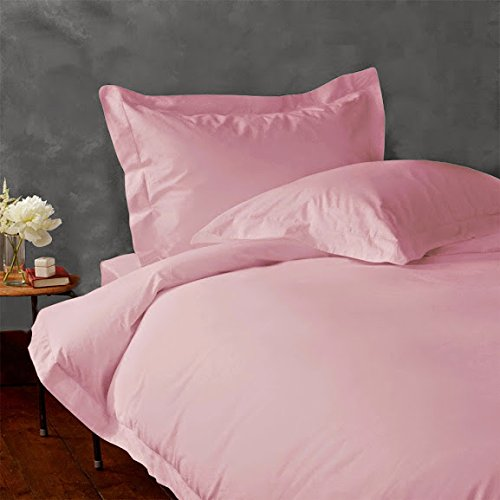 "400 Thread Count Super Soft Extra Deep Pocket Sheet Set Twin Extra Long Solid Baby Pink/Soft Pink Fit Up To 12"" Inches Deep Pocket With Wholesale Price front-1031400"