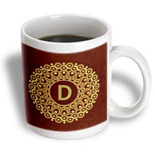 Monogram Coffee Cup