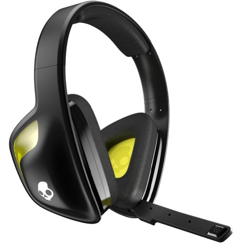 Skullcandy Slyr With Mic Wired Gaming Headphone - Black Yellow / One Size