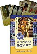 Go Fish for Ancient Egypt: Card Game and Book Set