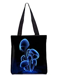Snoogg Digital Blasphemy Mushroom Digitally Printed Utility Tote Bag Handbag Made Of Poly Canvas