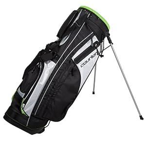 Pinemeadow Golf PGX Golf Bag (Black/White/Green)