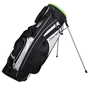 Pinemeadow Golf PGX Golf Bag (White/Green)