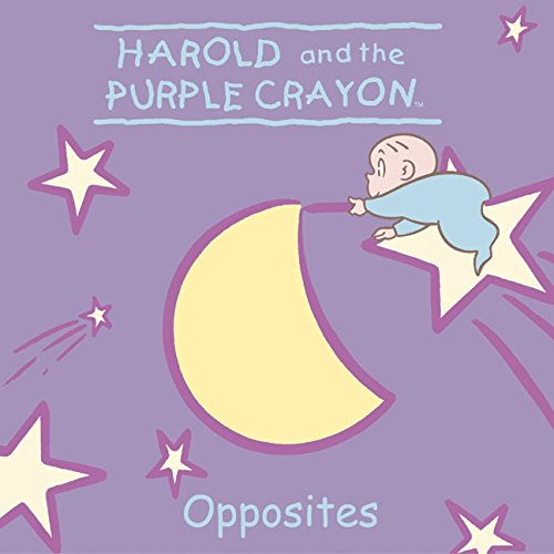 Harold and the Purple Crayon: Opposites (Harold & the Purple Crayon) (Harold Purple Crayon Board Book compare prices)