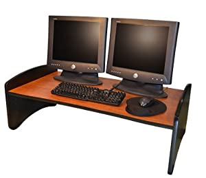 "Amazon The Standing Desk 40"" X 22"" Woodgrain black"