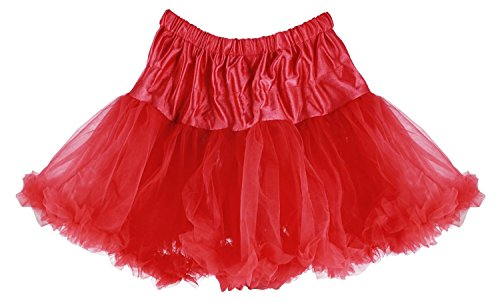 Girls/Todd 2/3 Raspberry Affordable and Fun Layered Ruffled Pettiskirt for Dress Up