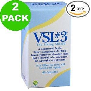 VSL 3 capsules (60 caps) - Paquet 2