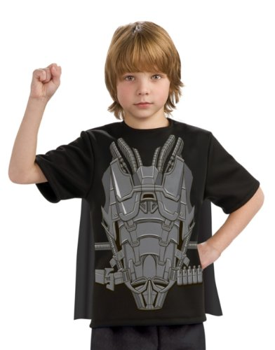 Man of Steel General Zod Costume Top with Cape Children's Costume