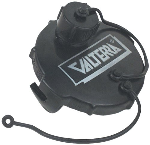 Valterra Products, Inc. T1020-1 3″ Black Termination Cap with Bayonet Hook and Hose Thread Connection