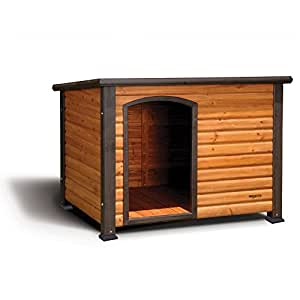 Precision Pet Outback Log Cabin Dog House,
