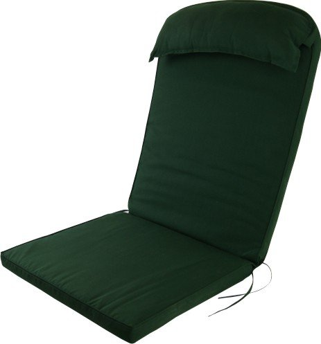 Adirondack Chair Luxury High Back Cushion with Head Pillow