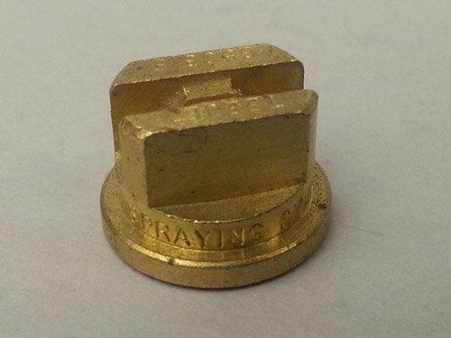 TeeJet STP65015E Spray Tip, 0.71-1.22 GPM, 20-60 psi, Brass - Gold
