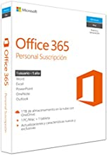 Microsoft Office 365 Personal - Suite De Utilidades, 32/x64 Bits, 1 Año