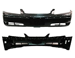 PAINTED FRONT BUMPER COVER CHEVY IMPALA 2000-2005 LS FG - Jasper Green Metallic - 56/WA329D