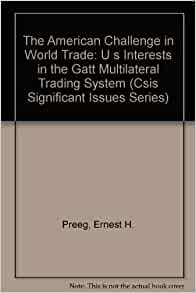 Challenges multilateral trading system