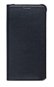 Cell-loid Premium Artificial leather Flip Cover for Lyf F1 - Black