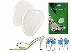 JERN Anti slip Silicon Shoes pad Foot Gel High Heels Toe Pads Insole