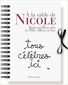 a la table de nicole anglais recipes and flavours from la. Black Bedroom Furniture Sets. Home Design Ideas