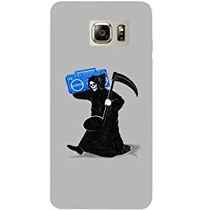 Casotec Changing Girl Design Hard Back Case Cover for Samsung Galaxy Note 5