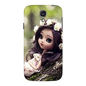 Ajay Enterprises Angel And Tree Multicolor Back Case Cover for Samsung Galaxy S4