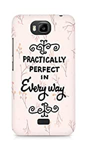AMEZ practically perfect in every way Back Cover For Huawei Honor Bee