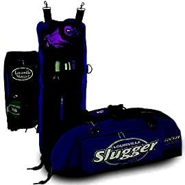 Louisville Slugger Deluxe Locker Bag 600 Denier Nylon (Navy)