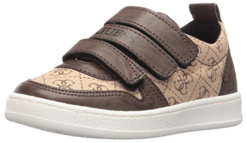 GUESS Boys' Raffaele Sneaker, Beige/Black, 29 EU/11 M US Little Kid (Guess Kids Shoes compare prices)