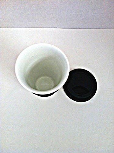 pawprints travel mug 18 oz microwave oven dishwasher safe silicone sleeve and lid home garden. Black Bedroom Furniture Sets. Home Design Ideas