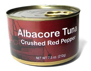 Albacore Tuna With Crushed Red Pepper