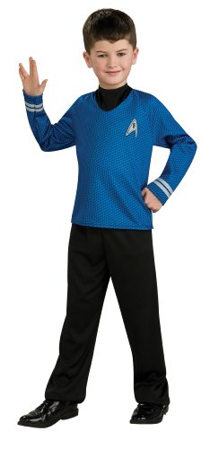 Spock Kids Shirt Size: Medium (8 - 10) (Baby Spock Costume)