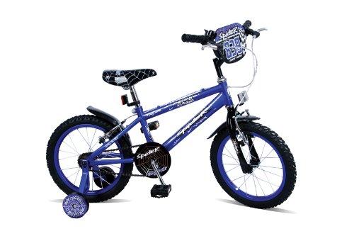 Concept Boy's Spider Bike - Blue, 16 Inch