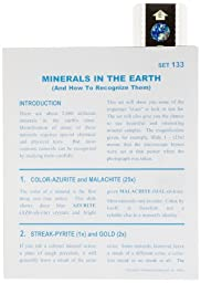 American Educational Microslide Minerals of The Earth Lesson Plan Set (Box of 15)