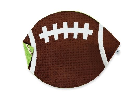 Mud Pie Football Blanket for Baby and Toddler