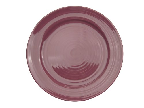 CAC China TG-16PLM Tango Plum Porcelain Plate, 10-1/2-Inch, Box of 12
