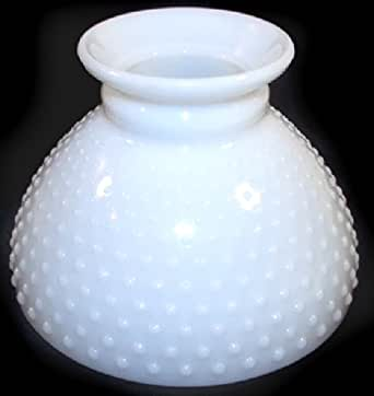 Vintage Fenton Hobnail Milk Glass Replacement Lamp Globe Light Shade Amaz